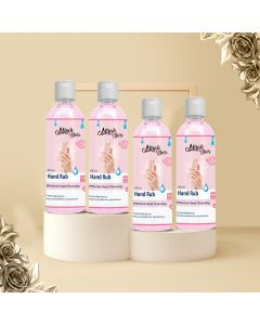 Mirah Belle -Organic and Natural - Hand Sanitizer (Pack of 4) - Cruelty Free - Best for Men, Women and Children - Sulfate and Paraben Free Cleanser - 4 * 100 ml