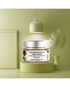 Lemon - Anise Seed - Skin Brightening Natural Face Cream