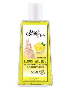 Fresh Lemon Hand Sanitizer Gel