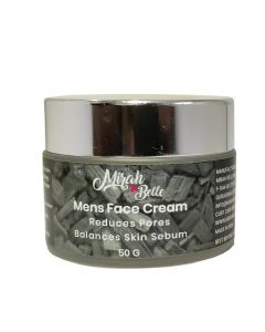 Mens Face Cream - Cedarwood & Hazelnut - Paraben Free