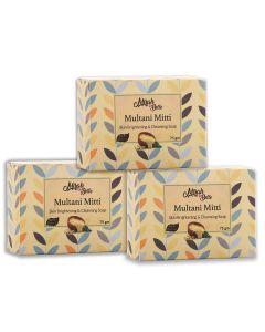 Mirah belle Multani mitti skin brightening & cleansing soap
