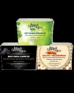 Skin Brightening Soaps- Set 2 (75g)