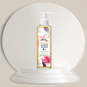 Activated Charcoal - Macadamia Nut Natural Shampoo