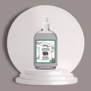 Activated Charcoal - Natural Body Wash - Detoxifying - Sulfate & Paraben Free