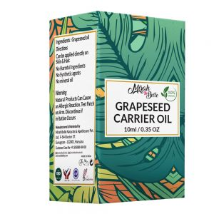 Grapeseed Oil - Organic, Virgin & Cold Pressed