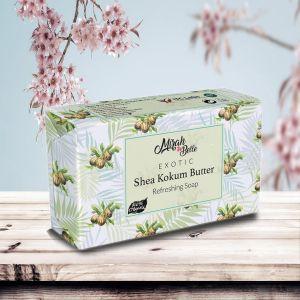 Shea - Kokum Butter - Handmade Organic Soap - Dry Skin - Face & Body