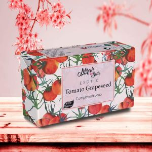 Fresh Tomato, Grapeseed - Organic Handmade Soap - Skin Lightening - Face & Body