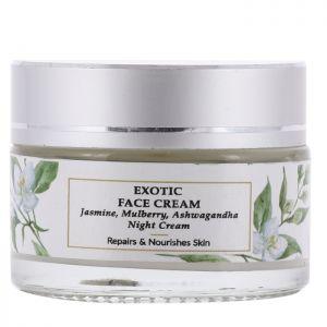 Jasmine, Mulberry, Wheatgerm - Exotic Night Face Cream