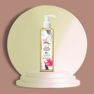 Ginger, Curry Leaf - Natural Shampoo - Hair Darkening - Sulfate & Paraben Free