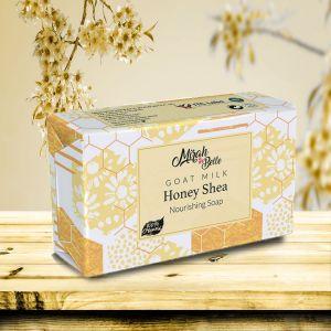 Goat Milk - Honey, Shea Butter - Dry Skin Unscented Soap Bar