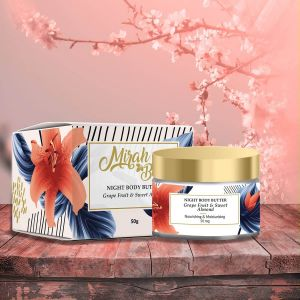 Grapefruit, Sweet Almond, Cocoa Butter – Organic Body Butter - Skin Lightening