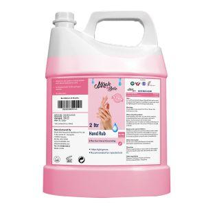 Hand Rub Sanitizer Can - 2 LTR - Bulk Pack for Refill - 72.9% Alcohol - FDA Approved - Best for Men, Women and Children