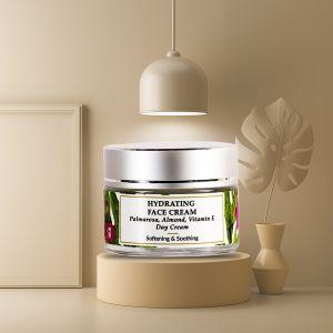 Palmarosa, Vitamin E, Sweet Almond - Dry Skin Face Cream