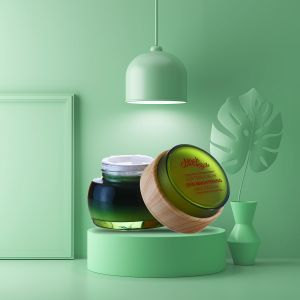 British Tea Rose, Papaya, Argan - Natural Face Cream - Skin Brightening - Paraben Free