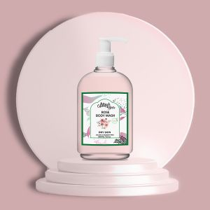 Rose, Mulberry - Natural Body Wash - Dry & Damaged Skin - Sulfate & Paraben Free