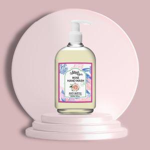 Rose - Dry Skin - Natural Hand Wash - Sulfate & Paraben Free