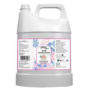 Rose Hand Wash Can (5 LTR)  - FDA Approved -  Bulk Pack for Refill - Best for Men, Women and Children - Sulfate and Paraben Free - 5000 ML