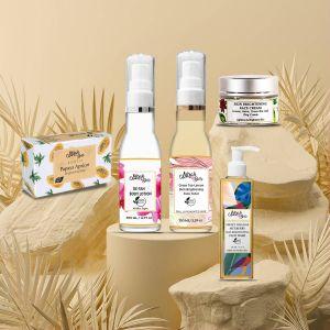 Skin Brightening & Anti Pigmentation Kit - Certified Organic - Sulfate & Paraben Free