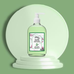 Tea Tree, Haritaki - Natural Body Wash - Acne Prone Skin - Sulfate & Paraben Free