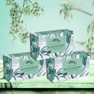 Tea Tree – Eucalyptus - Handmade Organic Soap - Eczema & Infections - Face & Body