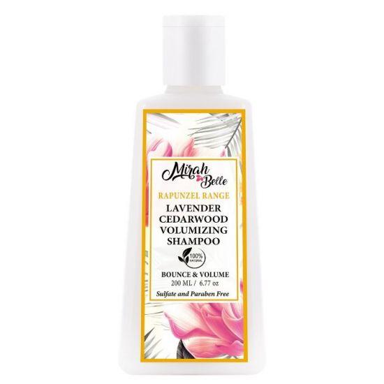 Lavender, Cedarwood - Natural Hair Volumising  Shampoo