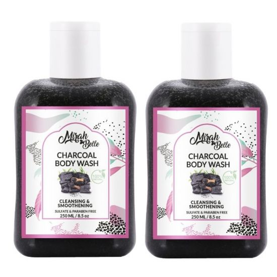 Mirah Belle Activated Charcoal Detox Body Wash