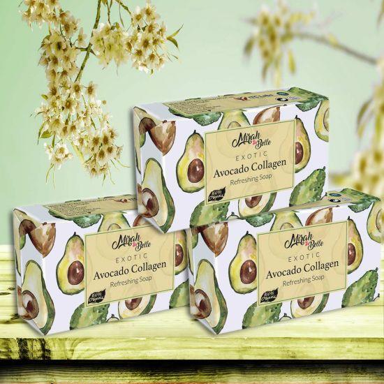 Mirah Belle Avocado Collagen Handmade Organic Soap