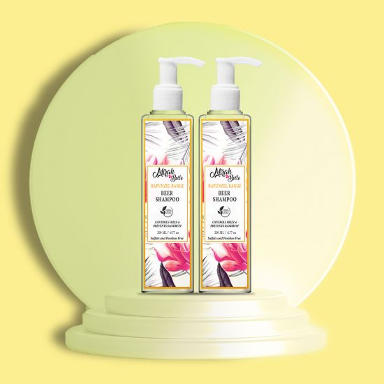 Mirah Belle - Beer Shampoo - For Conditioning & Dandruff Free Hair - Sulfate & Paraben Free
