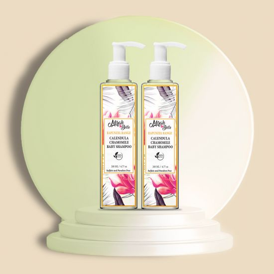 Mirah Belle Calendula Chamomile Baby Shampoo