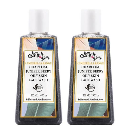 Mirah Belle Activated Charcoal Detox Face Wash