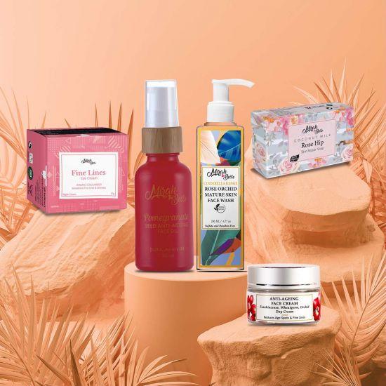Anti Aging Skin Kit - Sulfate & Paraben Free
