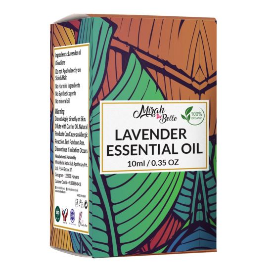 Lavender Essential Oil - Pure & Organic