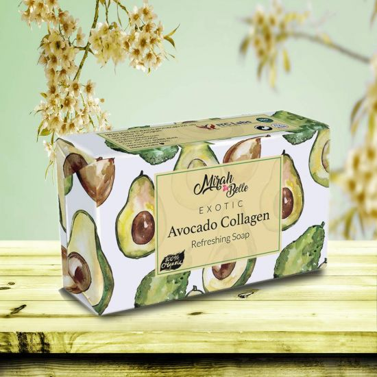 Fresh Avocado - Organic Handmade Soap - Collagen & New Skin Cells - Face & Body