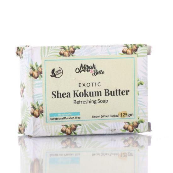 Shea, Kokum Butter - Dry Skin Soap Bar - Organic, Handmade