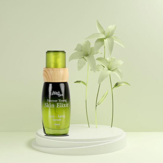 Raspberry Seed, Tamanu, Hazelnut - Organic Anti Aging Elixir - Skin Tightening