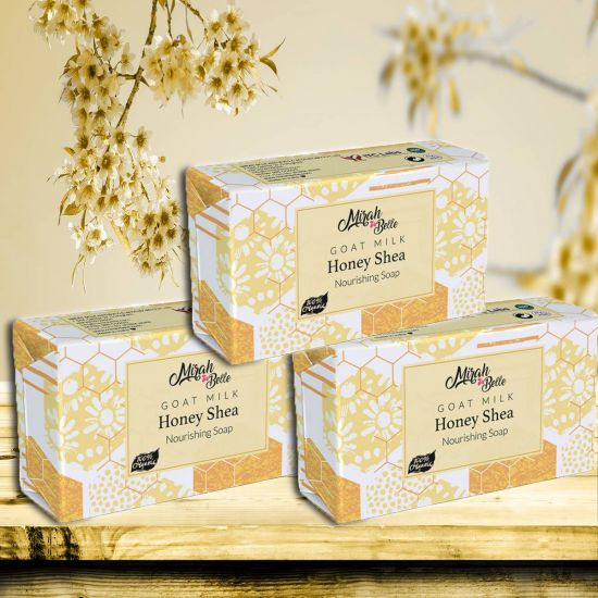 Mirah Belle Goat Milk Honey Shea Handmade Soap