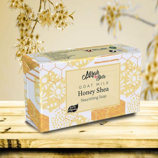 Goat Milk, Honey & Shea - Unscented Handmade Organic Soap - Hypoallergenic - Face & Body