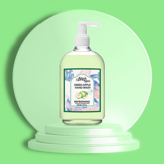 Green Apple - Natural Hand Wash - Sulfate & Paraben Free