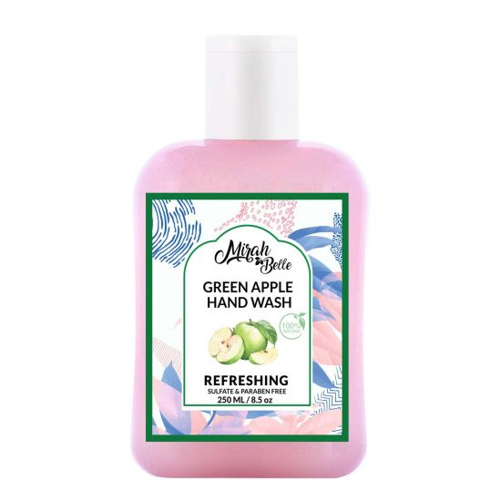 Green Apple Hand Wash - Organic Hand Cleanser (250 ml)