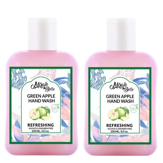 Mirah Belle Green Apple Hand Wash