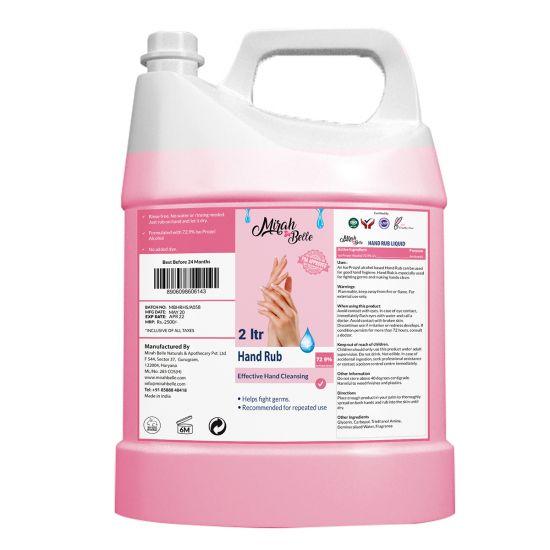 Hand Sanitizer Liquid - 2 Ltrs