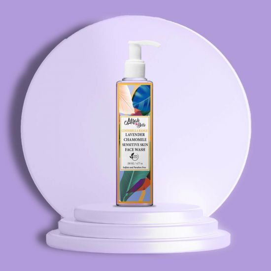 Lavender, Chamomile - Natural Face Wash - Sensitive Skin - Sulfate & Paraben Free