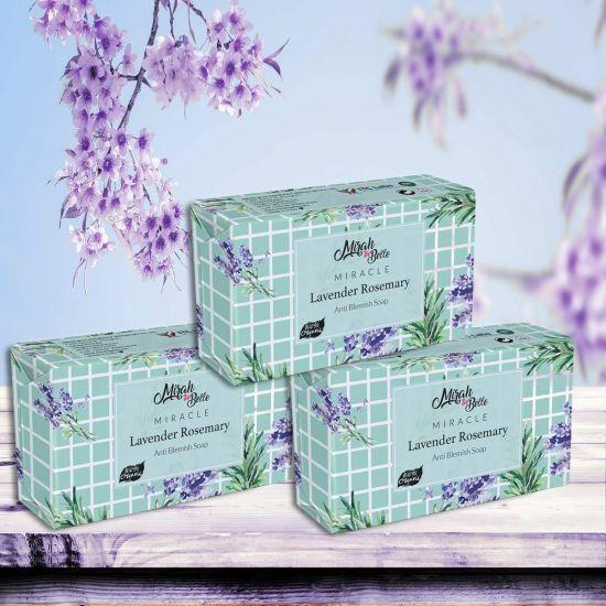 Mirah Belle Lavender Rosemary Anti Blemish Healing Handmade Soap