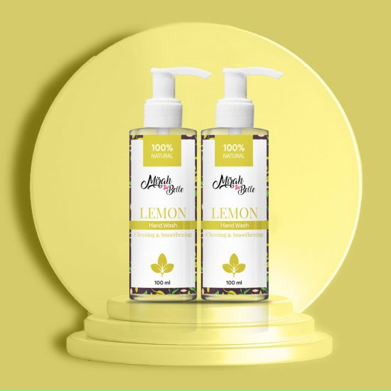 Natural Lemon Hand Wash 100ml Each (Pack of 2)