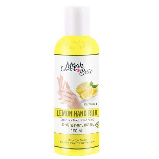 mirah belle lemon hand sanitizer