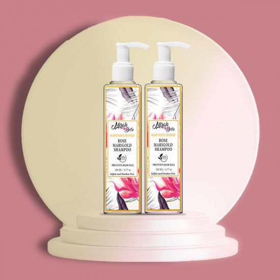 Mirah Belle Natural Rose Anti Hair Fall Shampoo