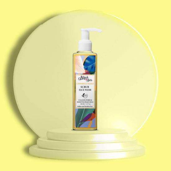 Neroli, Calendula - Natural Face Wash - Exfoliation - Sulfate & Paraben Free