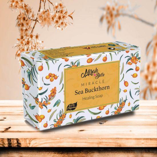 Sea Buckthorn Healing Soap - Organic, Handmade, Paraben Free