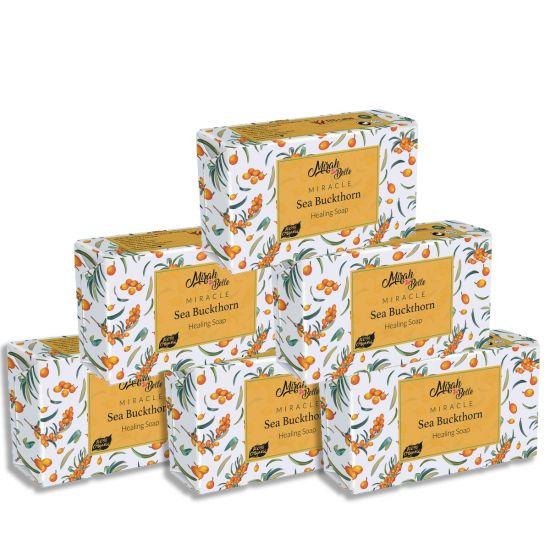 Mirah belle Organic handmade sea buckthorn soap