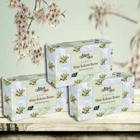 Mirah Belle Shea Kokum Butter Handmade Soap